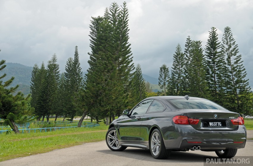 DRIVEN: F32 BMW 428i M Sport – all things to all men? Image #220844