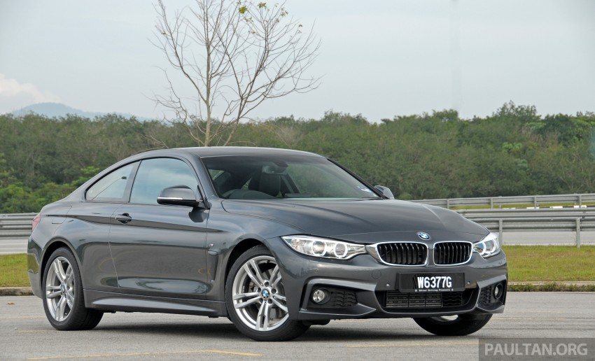 DRIVEN: F32 BMW 428i M Sport – all things to all men? Image #220847