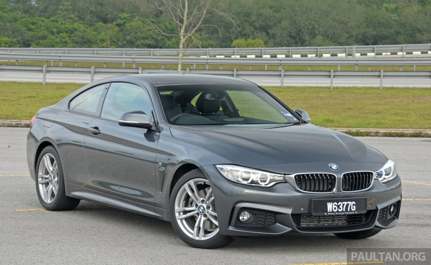 DRIVEN: F32 BMW 428i M Sport – all things to all men? Image #220848