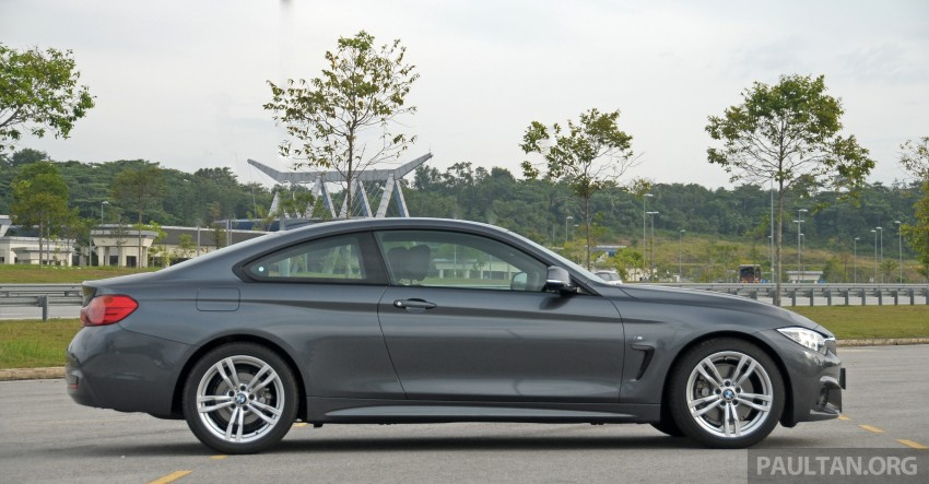 DRIVEN: F32 BMW 428i M Sport – all things to all men? Image #220851