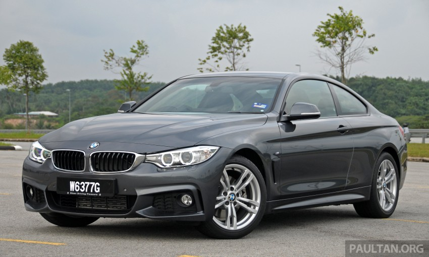 DRIVEN: F32 BMW 428i M Sport – all things to all men? Image #220852