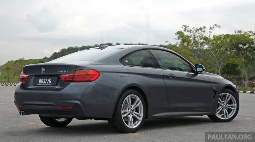 DRIVEN: F32 BMW 428i M Sport – all things to all men? Image #220856