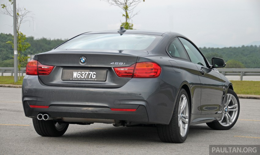 DRIVEN: F32 BMW 428i M Sport – all things to all men? Image #220857