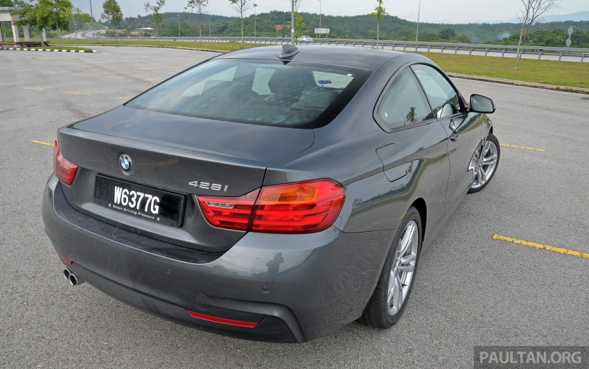 DRIVEN: F32 BMW 428i M Sport – all things to all men? Image #220858