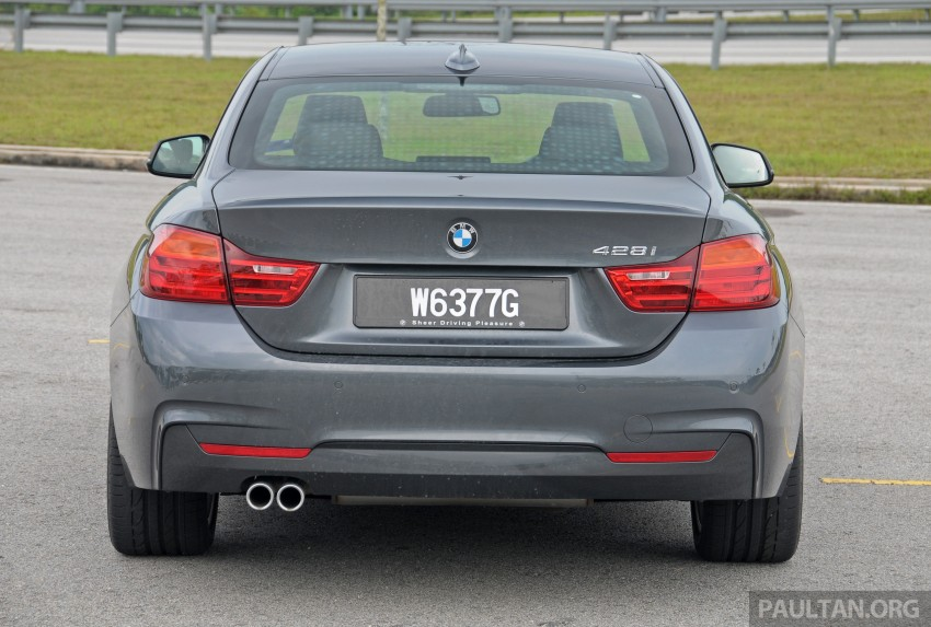 DRIVEN: F32 BMW 428i M Sport – all things to all men? Image #220859