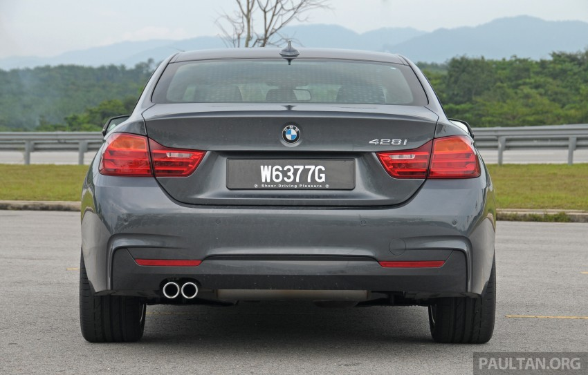 DRIVEN: F32 BMW 428i M Sport – all things to all men? Image #220860