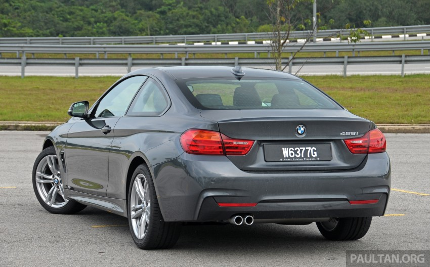 DRIVEN: F32 BMW 428i M Sport – all things to all men? Image #220861