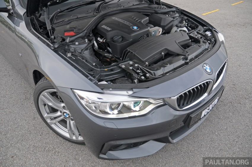 DRIVEN: F32 BMW 428i M Sport – all things to all men? Image #220894