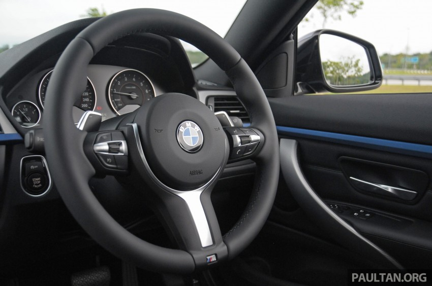 DRIVEN: F32 BMW 428i M Sport – all things to all men? Image #220941