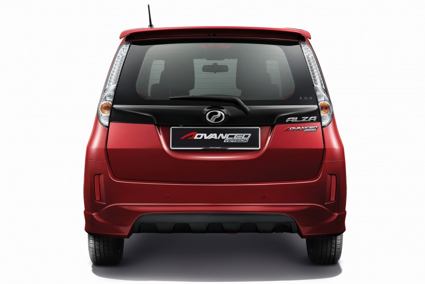 Perodua Alza facelift officially revealed, from RM52,400 Image #221516