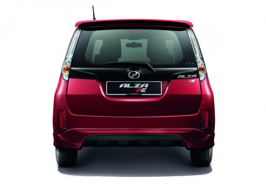 Perodua Alza facelift officially revealed, from RM52,400 Image #221524