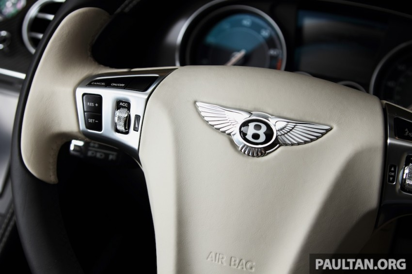 DRIVEN: Bentley Continental GT Speed – fast money! Image #222919