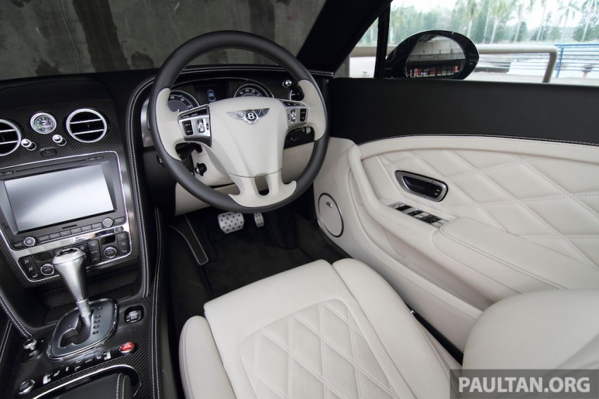 DRIVEN: Bentley Continental GT Speed – fast money! Image #222947