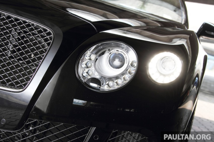DRIVEN: Bentley Continental GT Speed – fast money! Image #222971