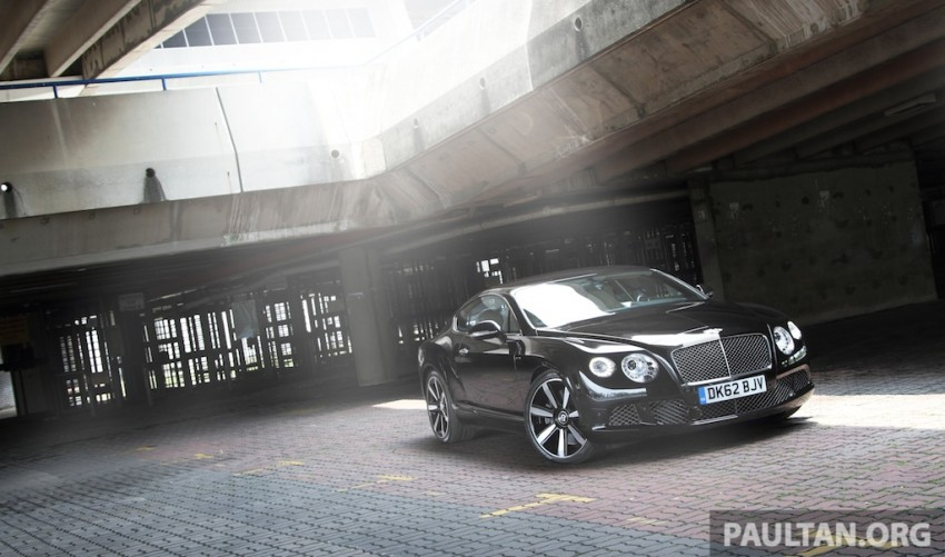 DRIVEN: Bentley Continental GT Speed – fast money! Image #222980