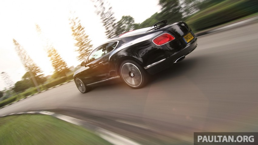 DRIVEN: Bentley Continental GT Speed – fast money! Image #222985