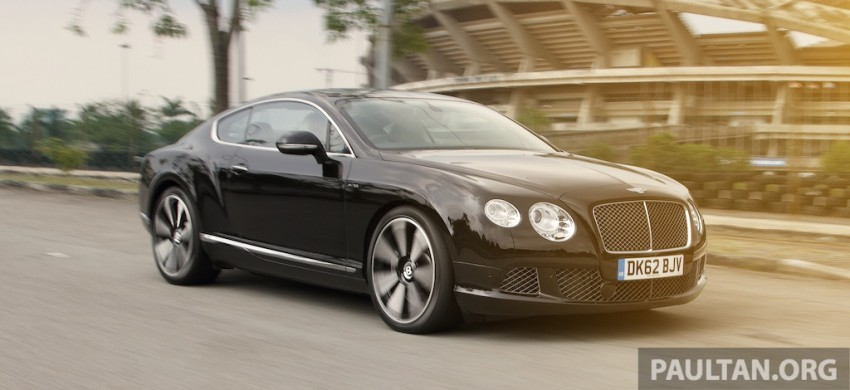 DRIVEN: Bentley Continental GT Speed – fast money! Image #222986