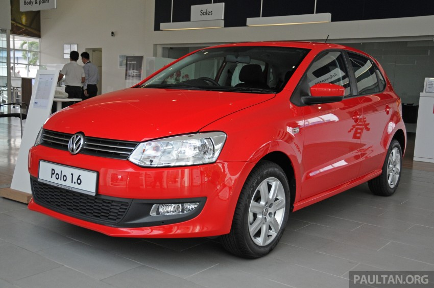GALLERY: Showroom pics of the CKD VW Polo Hatch Image #224474