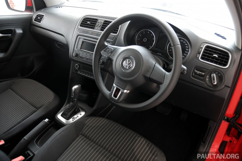 GALLERY: Showroom pics of the CKD VW Polo Hatch Image #224498