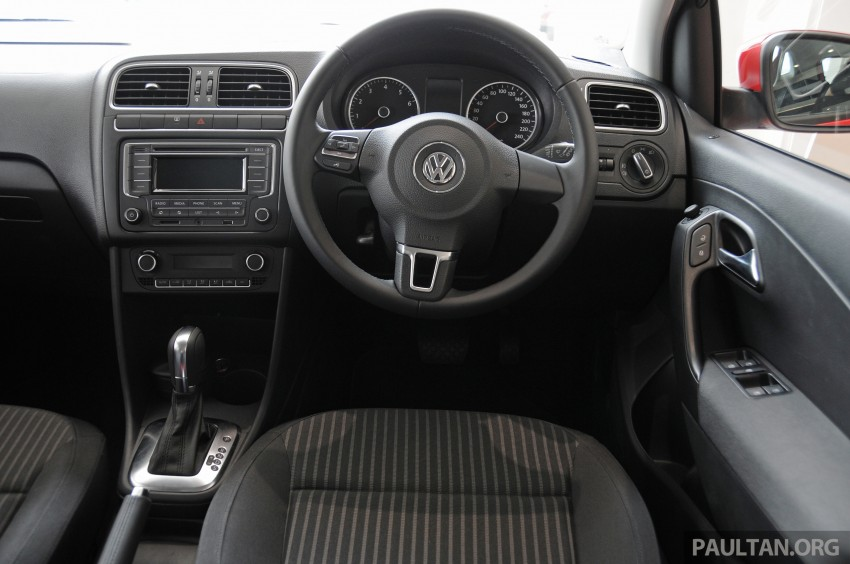 GALLERY: Showroom pics of the CKD VW Polo Hatch Image #224500