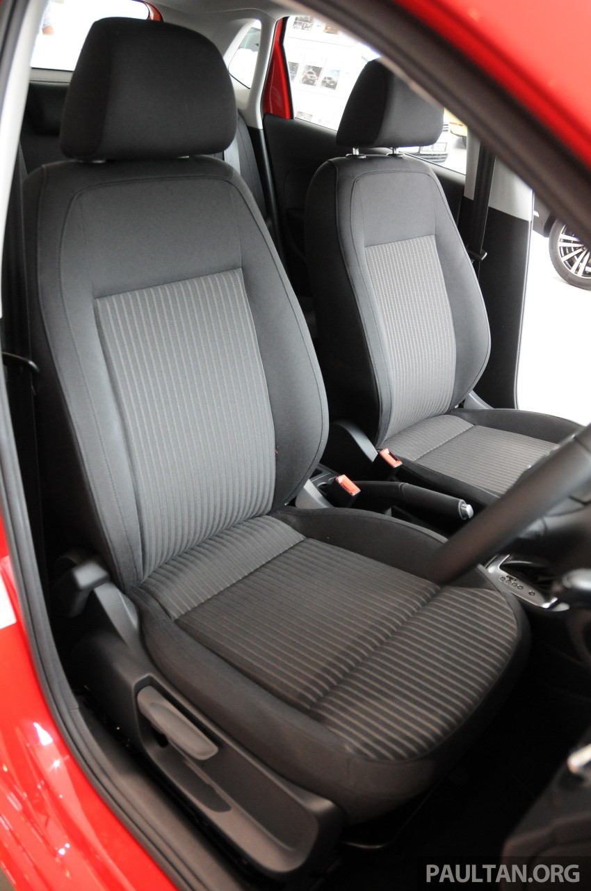 GALLERY: Showroom pics of the CKD VW Polo Hatch Image #224515