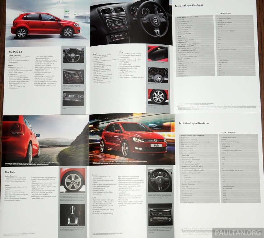 GALLERY: Showroom pics of the CKD VW Polo Hatch Image #224518