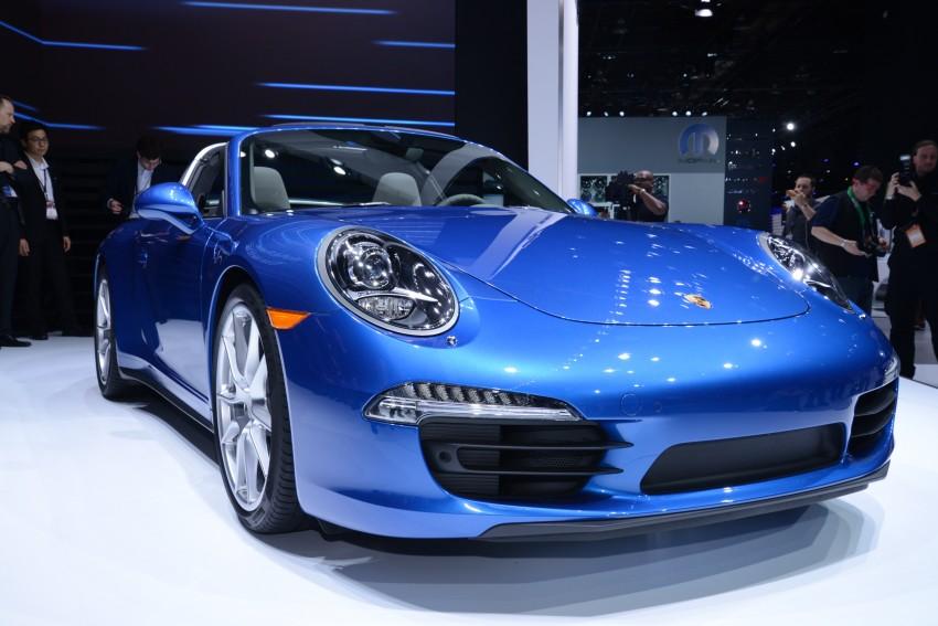 Porsche 911 Targa 4 and 4S (991) debut in Detroit Image #222232