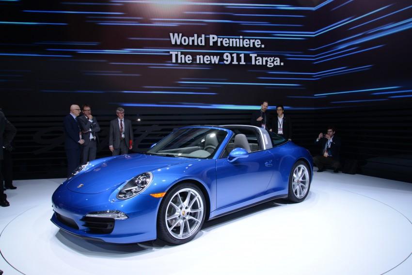 Porsche 911 Targa 4 and 4S (991) debut in Detroit Image #222241