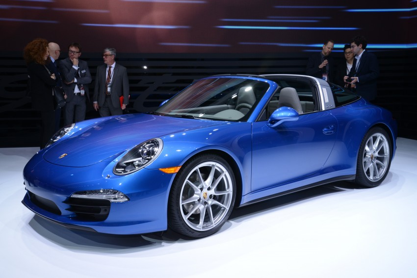 Porsche 911 Targa 4 and 4S (991) debut in Detroit Image #222233