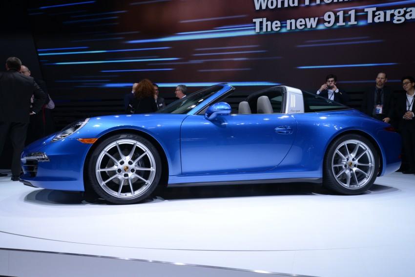 Porsche 911 Targa 4 and 4S (991) debut in Detroit Image #222239