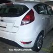 Ford Fiesta FL MT AA spy 02