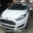 Ford Fiesta FL MT AA spy 09