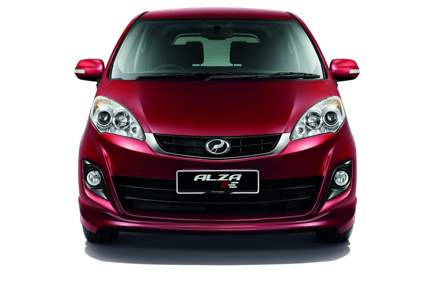 Perodua Alza facelift officially revealed, from RM52,400 Image #221526