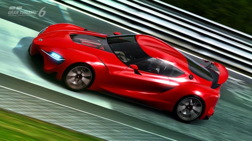 Toyota FT-1 concept shocks Detroit – the next Supra? Image #221988