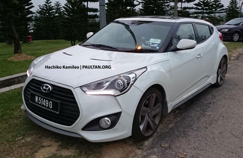 Hyundai Veloster Turbo – Malaysian-spec car spied Image #224588