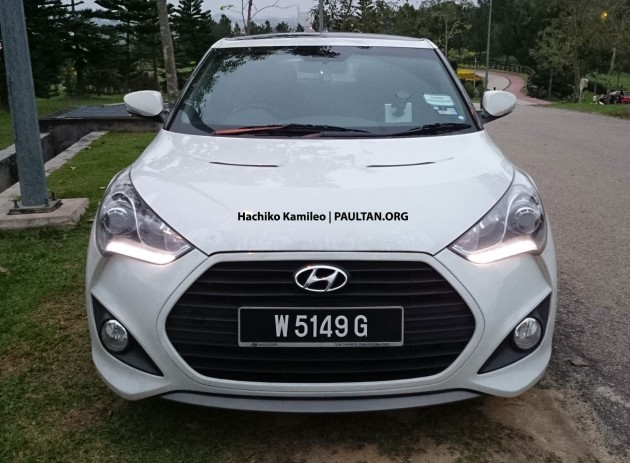hyundai veloster turbo malaysian spec car spied. Black Bedroom Furniture Sets. Home Design Ideas