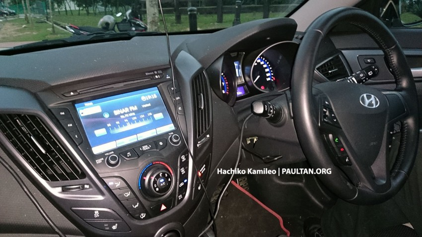 Hyundai Veloster Turbo – Malaysian-spec car spied Image #224593