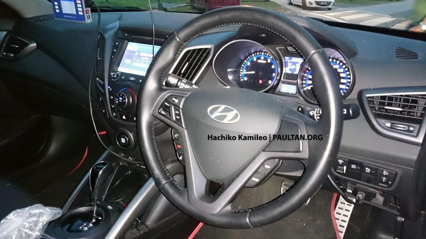 Hyundai Veloster Turbo – Malaysian-spec car spied Image #224594