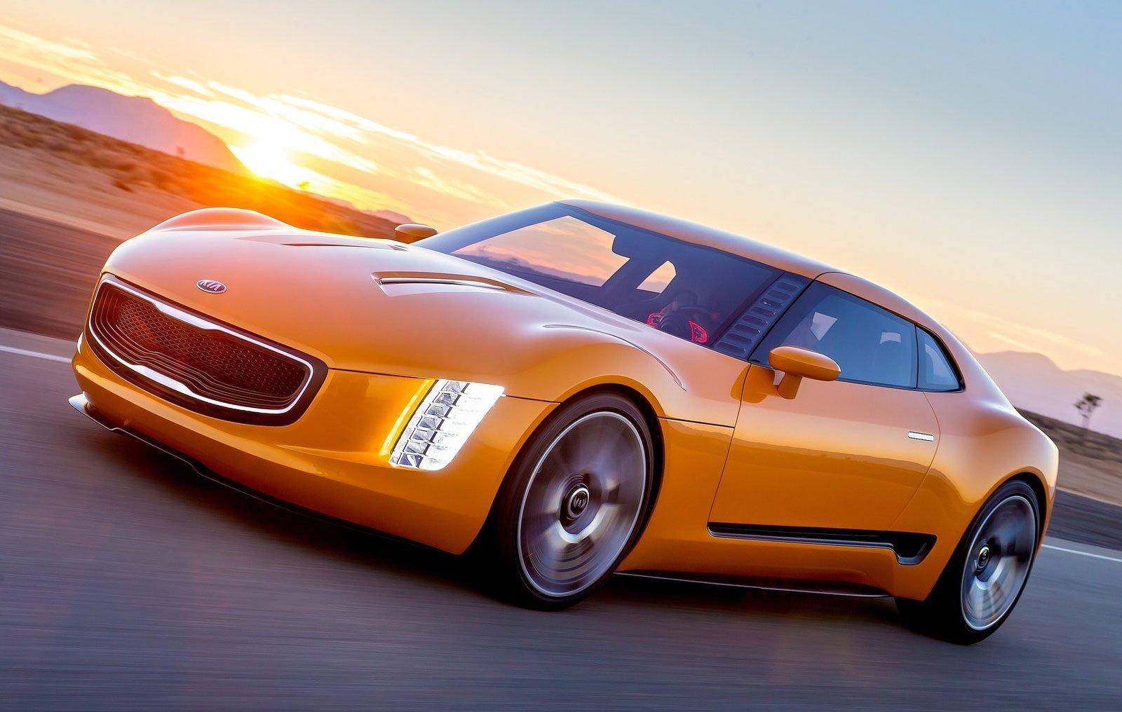 California Tax Calculator >> Kia GT4 Stinger Concept - rear-driven 2+2 sports car