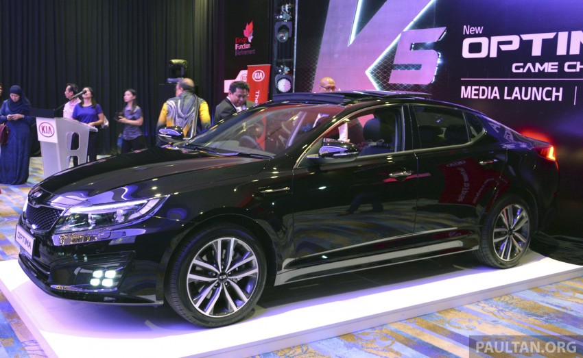 Kia Optima K5 facelift officially launched – RM149,888 Image #222450