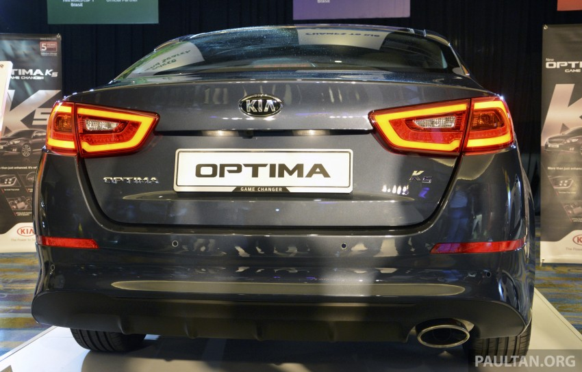 Kia Optima K5 facelift officially launched – RM149,888 Image #222542