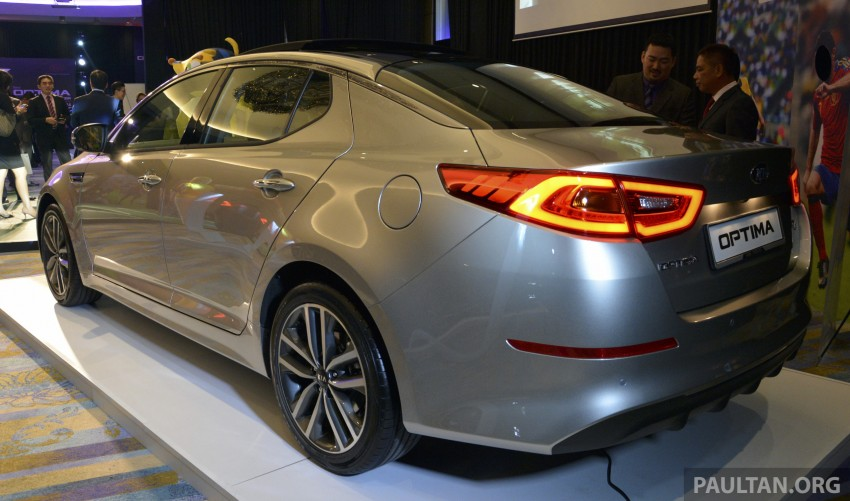 Kia Optima K5 facelift officially launched – RM149,888 Image #222557