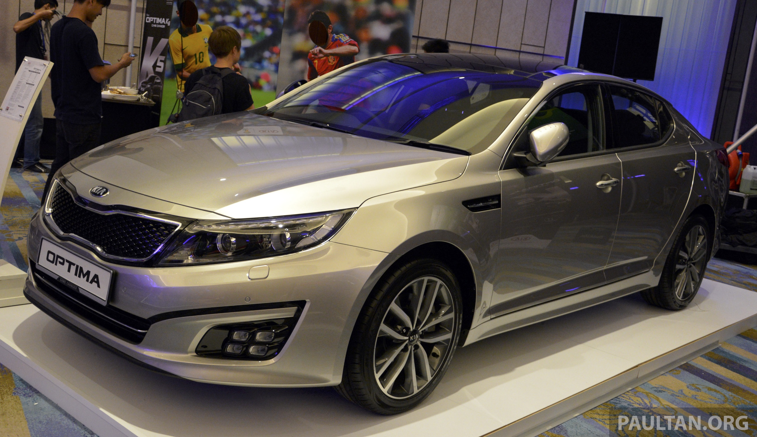 kia optima k5 facelift officially launched rm149 888 image 222624. Black Bedroom Furniture Sets. Home Design Ideas