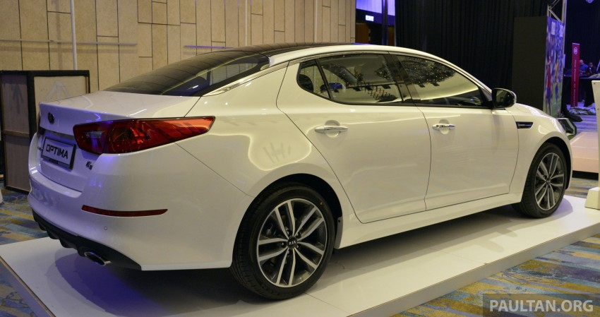 Kia Optima K5 facelift officially launched – RM149,888 Image #222628