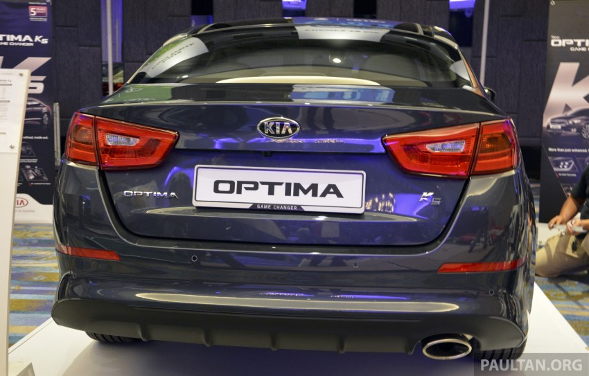 Kia Optima K5 facelift officially launched – RM149,888 Image #222632