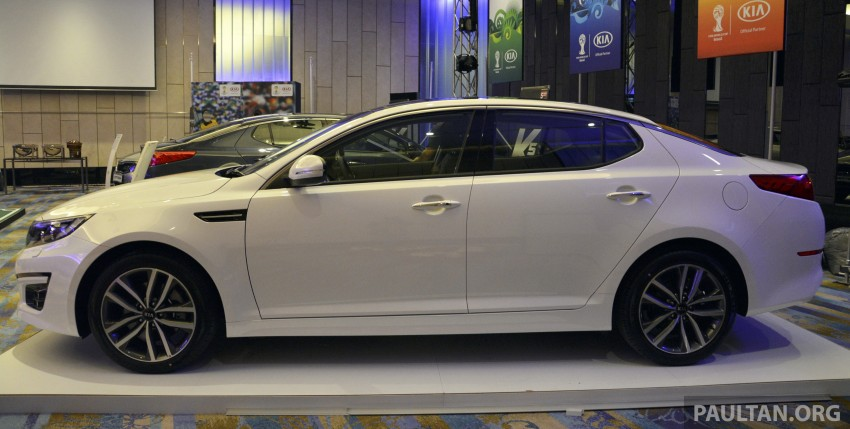 Kia Optima K5 facelift officially launched – RM149,888 Image #222634