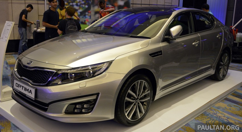 Kia Optima K5 facelift officially launched – RM149,888 Image #222635