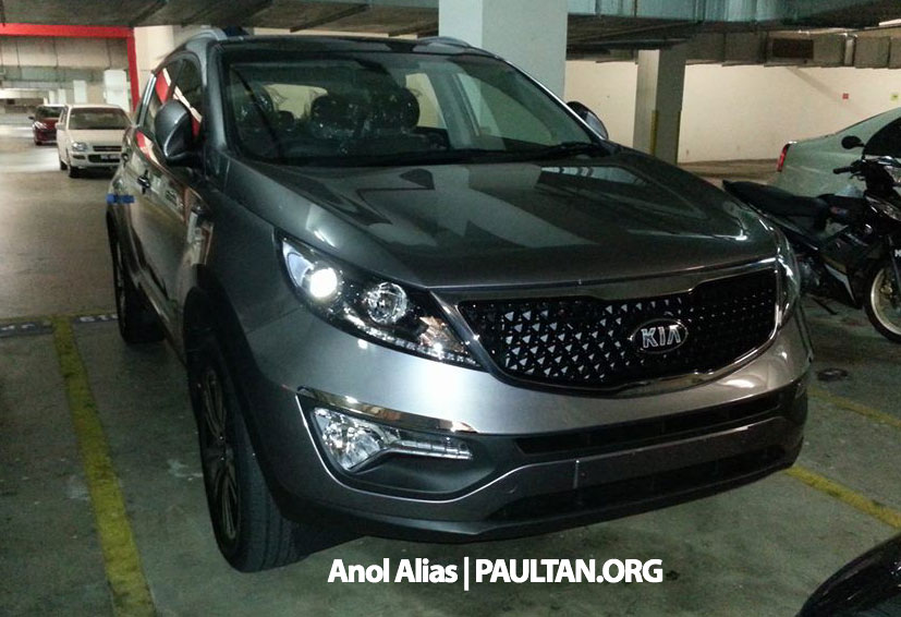 Kia Sportage facelift sighted at JPJ Putrajaya Image #223037