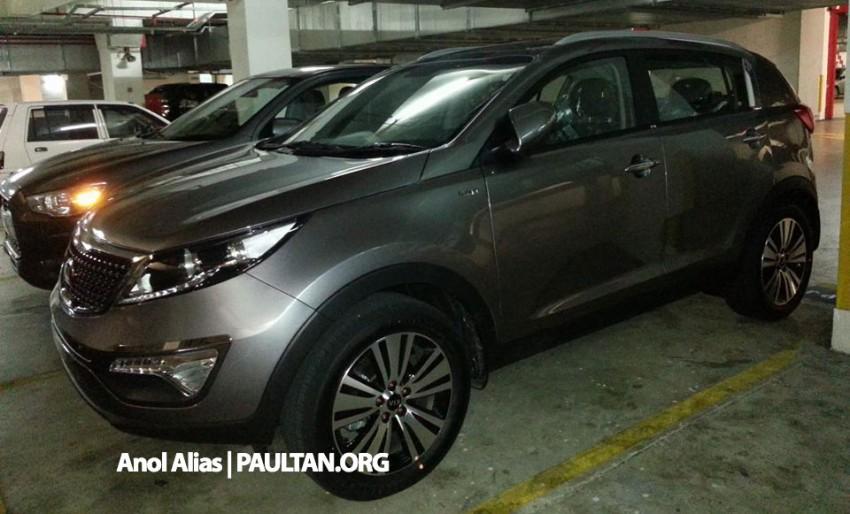 Kia Sportage facelift sighted at JPJ Putrajaya Image #223040