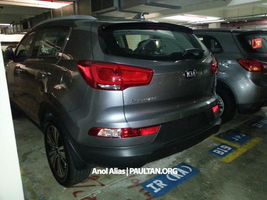 Kia Sportage facelift sighted at JPJ Putrajaya Image #223041